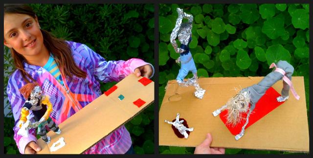 Foil Action Figures= Green Art (2/3)