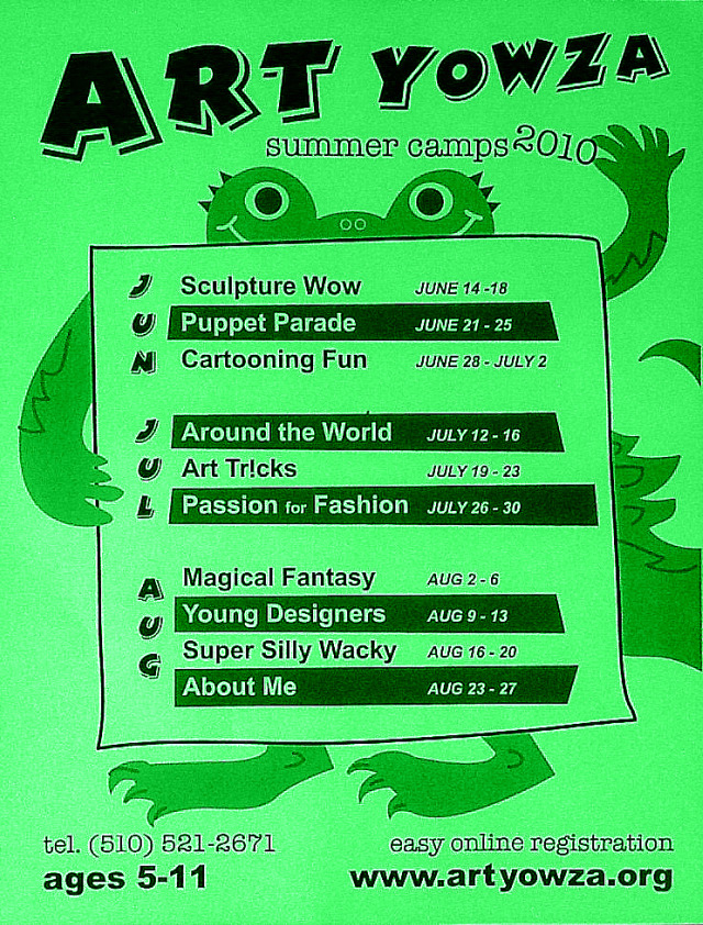 Art Summer Camps in Alameda, CA