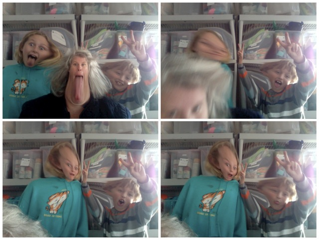 funny faces, mac photobooth effects