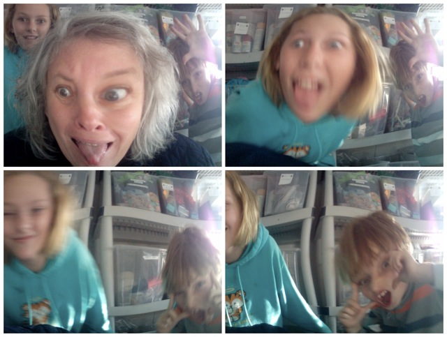 funny faces , mac photobooth effects