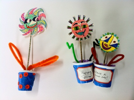 earth day craft, gift for mother's day, kid's gift for mom, mother's day craft for elementary age students